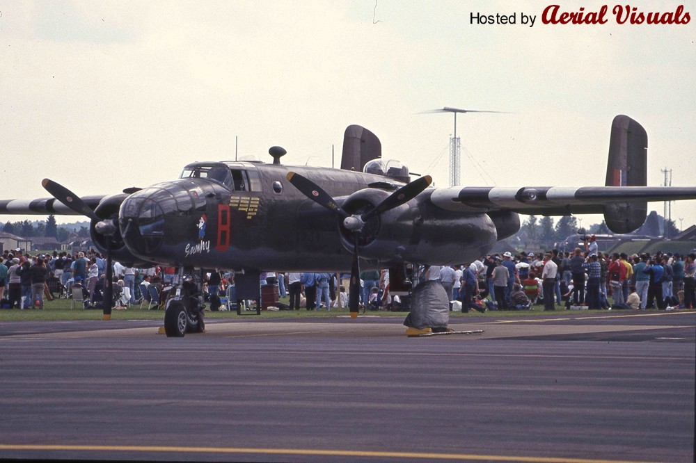 Aerial Visuals  Airframe Dossier North American B 25D