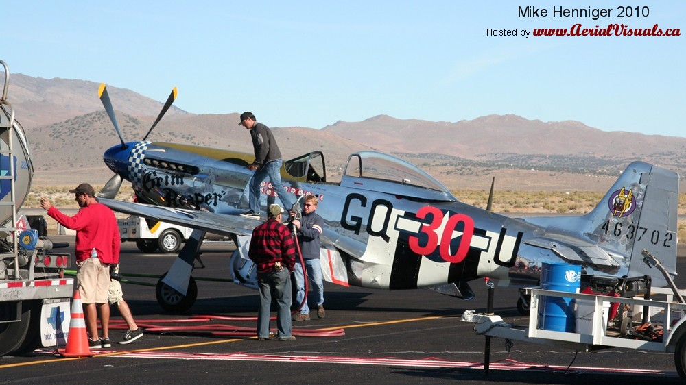 Aerial Visuals - Airframe Dossier - North American P-51D ...
