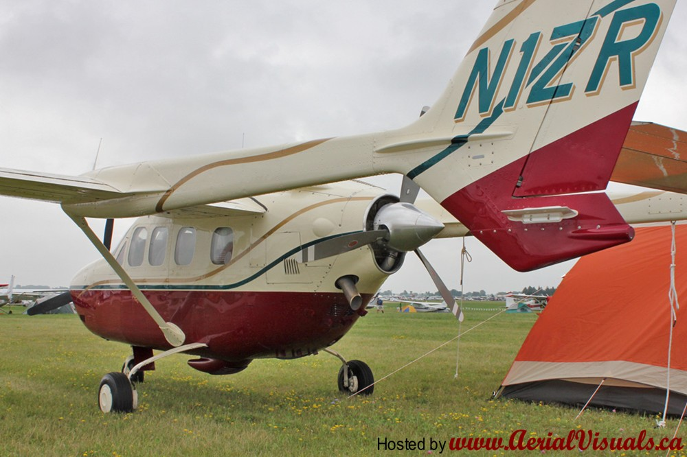 Aerial Visuals - Airframe Dossier - Cessna-Reims FT337G Super