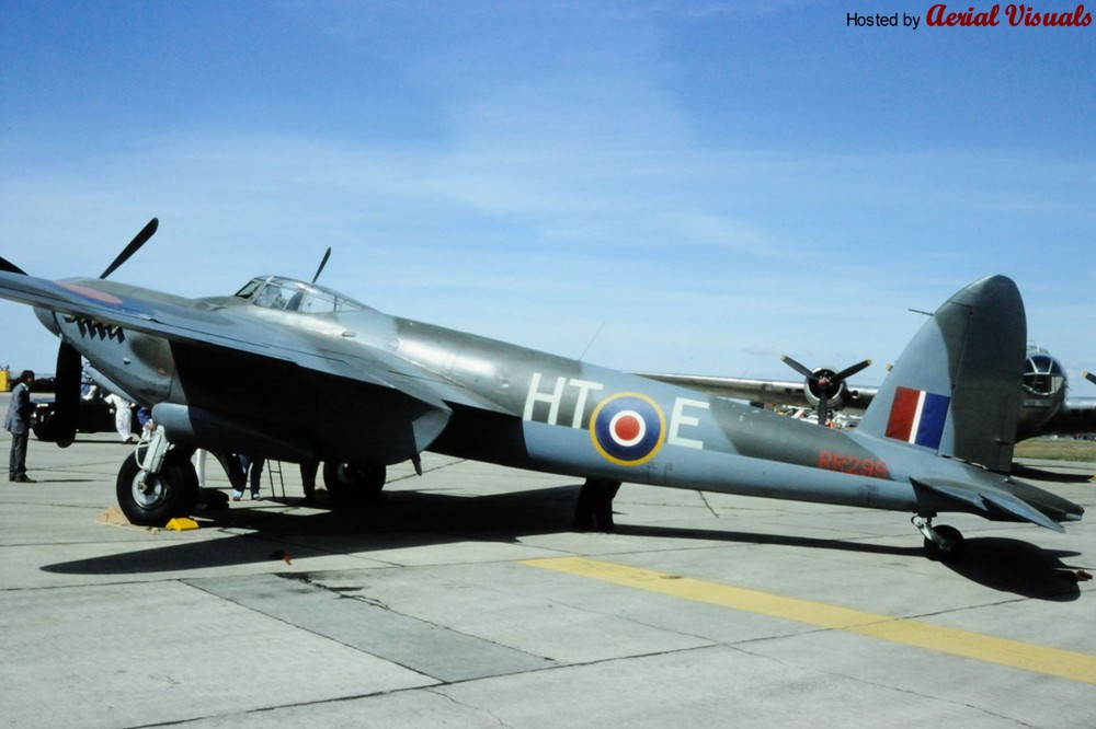 Aerial Visuals Airframe Dossier De Havilland Mosquito
