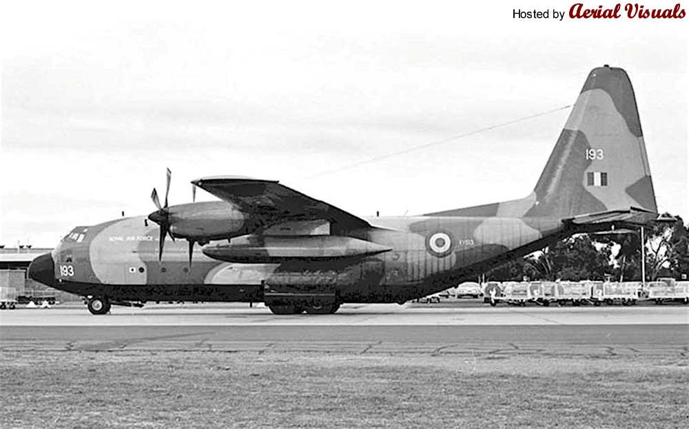 1971 RAF Hercules crash